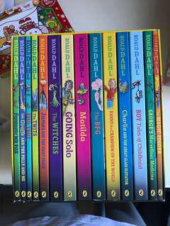 Roald DAHL book Sets (14 book)