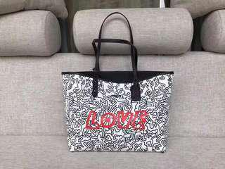 Coach Keith Haring Reversible Tote in Chalk Black Love