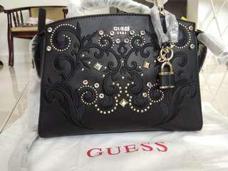 GUESS Alessia Satchel Bag