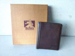Marlboro Country Wallet 9格萬寶路真皮銀包