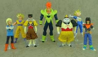 日本空運原裝正貨初版新淨中古套裝 龍珠 Dragonball Z HG figure part (SP5)ドラゴンボールZ SP 人造人間スペシャル編(2008年11月)