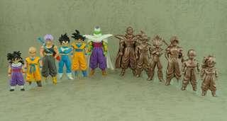 日本空運原裝正貨初版新淨中古套裝 龍珠 Dragonball Z HG figure part (HG20上)ドラゴンボールZ20-Ⅰ Z戦士スペシャル!前編(2009年1月)