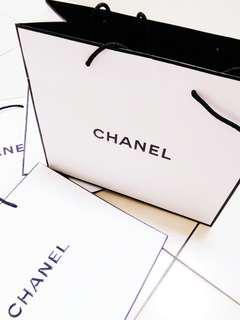 🚚 Chanel 專櫃名牌 紙袋