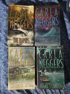 Carla Neggers Books (set of 4)