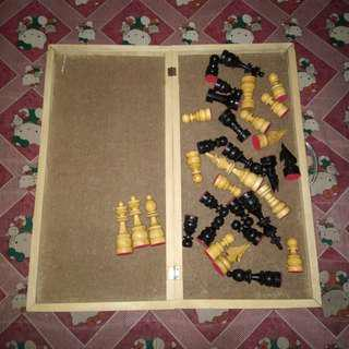 Classic Wooden Chess Board