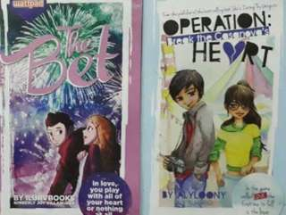 Pop Fiction books with plastic cover, Books, Books on Carousell