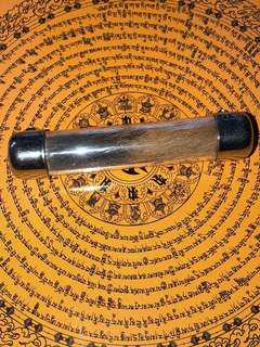 "Thai Amulet ""Nahng Sua"" Tiger Takrut"