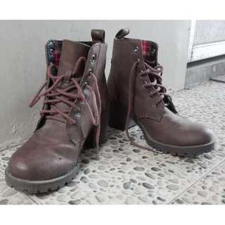 H&M Hippie Brown Boots