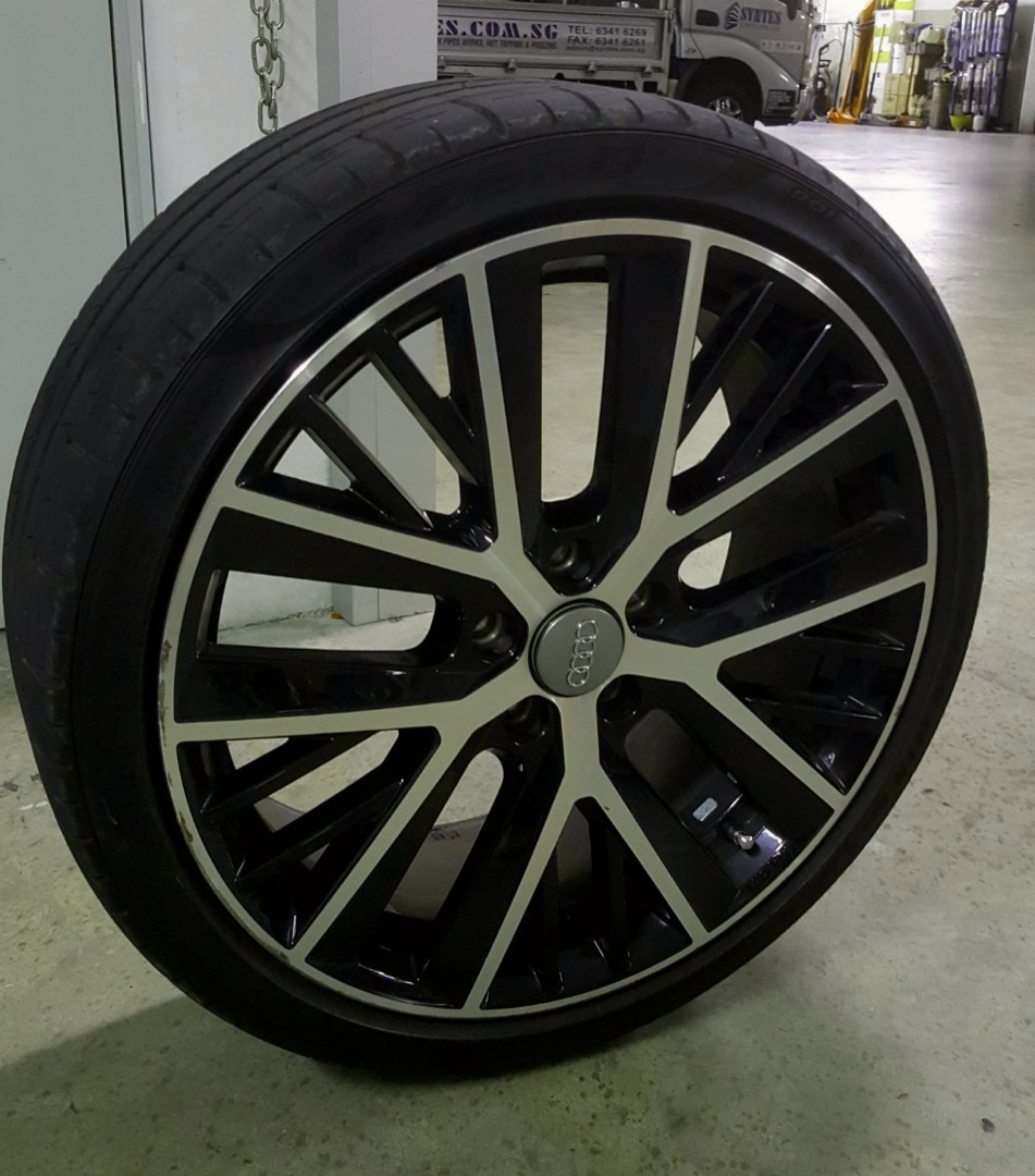 Inch Original VW Audi Rims Car Accessories Tyres Rims On - Audi rims