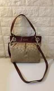 Auth Coach Ashley Hippie Crossbody Bag michael kors kate spade