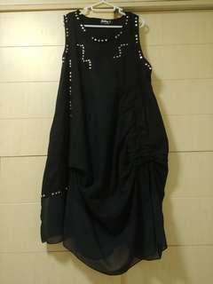 韓國窩釘背心裙 Woman's Dress