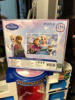 Elsa Puzzle 216PCS