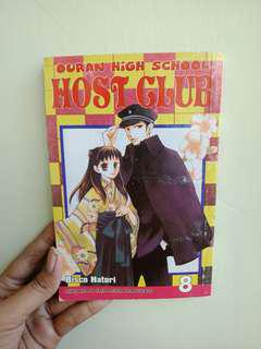 Ouran High School Host Club Vol 8 & 11