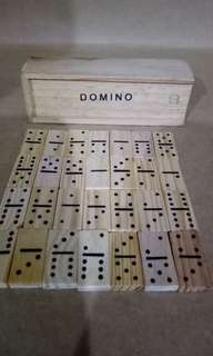 Mini Size Wooden Dominos