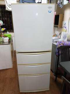 Mitsubishi 4 door refrigerator