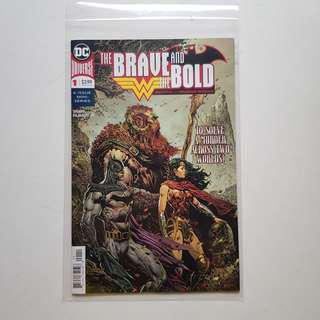 DC Comics - Brave The Brave and The Bold Batman and Wonder Woman issue 1 2018