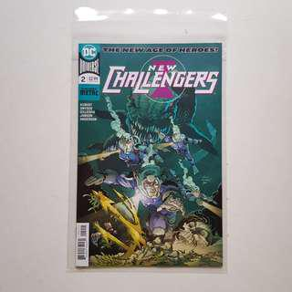 DC Comics - New Challengers New Age of Dc Heroes issue 2