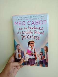 Meg Cabot From the Notebooks of Middle School Princess & Royal Wedding Disaster