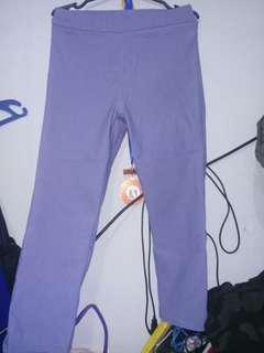 Powder blue 3/4 pants