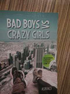 Novel Bad boys vs Crazy girl