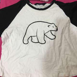 🚚 可愛 北極熊 t