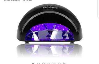753*MelodySusie 12W LED Nail Dryer - Nail Lamp Curing LED Gel Nail Polish, Professional for Nail Art at Home and Salon - Black
