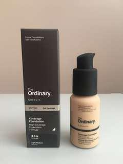 The Ordinary Coverage Foundation 2.0