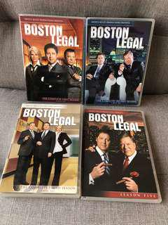 經典美劇 Boston Legal (Season 1,2,3 & 5)