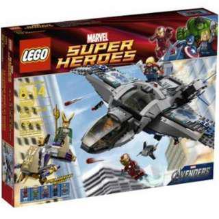 Lego 6869 Quinjet Aerial Battle Marvel