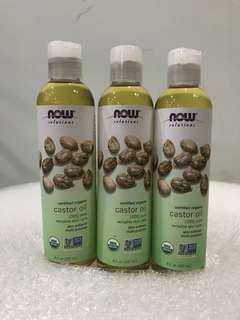 NOW Organic Castor Oil