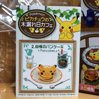 Re-Ment Pokemon Pikachu Komarebi Cafe-2.Pancakes
