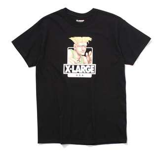 XLARGE x Street Fighter Guile Tshirt - Black