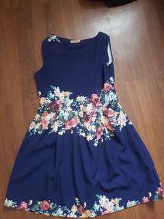 Preppy floral dress