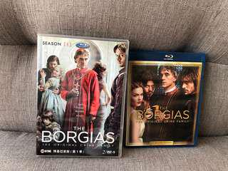 BORGIAS Blu-ray (Season 1 & 2)