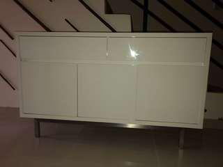 White Dressing Table/Cabinet
