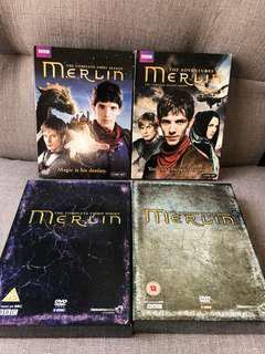BBC 名劇 MERLIN DVD (Season 1-4)
