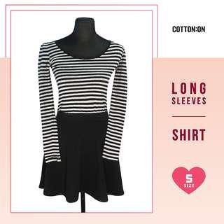❤ SALE! Cotton On Stripes Longsleeve Shirt