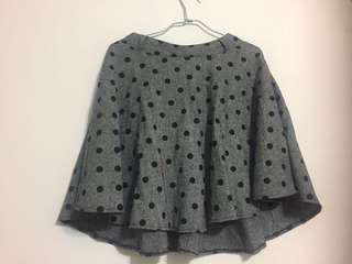 🚚 🎁《贈品》點點灰色圓裙
