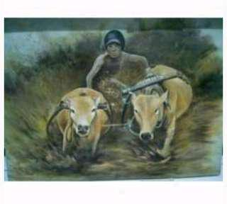 Lukisan karapan sapi