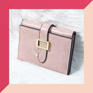 Old Rose Trifold Wallet w/ FREE LIP ICE SHEER COLOR