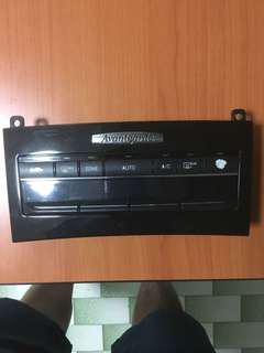 W212 climate control panel