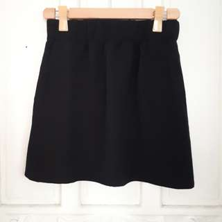 Monki Black Skirt