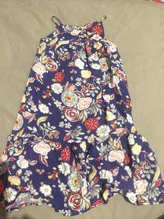 Oshkosh floral maxi dress