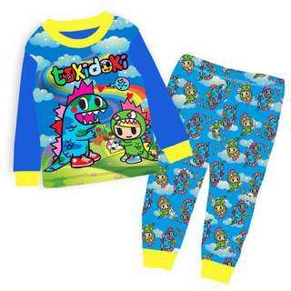 🚚 Tokidoki Pyjamas set dinosaurs