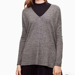 Aritzia Babaton Burgundy Sweater
