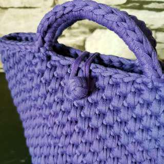 🚚 Crochet Mini Tote Bag