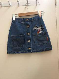 Mickey skirt fits xxs