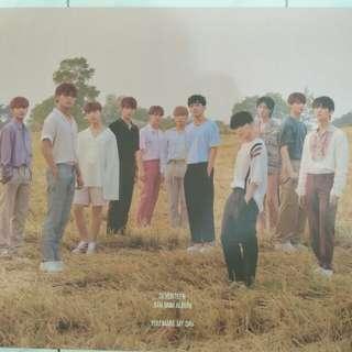 Poster Seventeen You Make My Day Follow Version Album