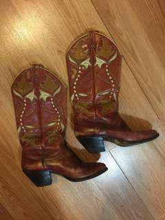 Western Boot- Vintage size 7