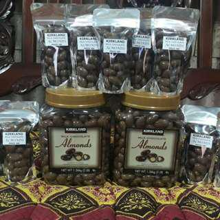 Kirkland Milk Chocolate Almonds 30 pcs each